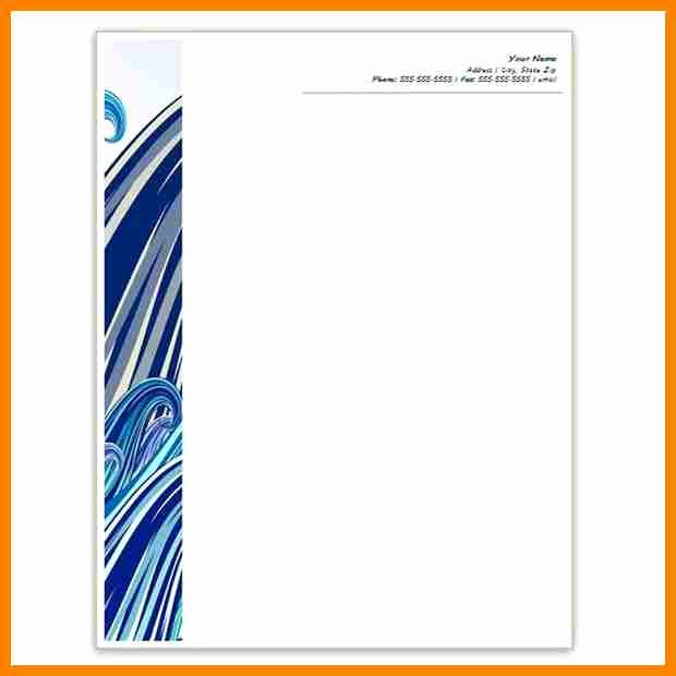 Microsoft Word Letterhead Template Beautiful 10 Letterhead Templates Word 2010