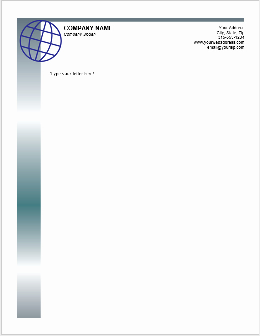 Microsoft Word Letterhead Template Best Of 38 Free Letterhead Templates Ms Word Templatehub