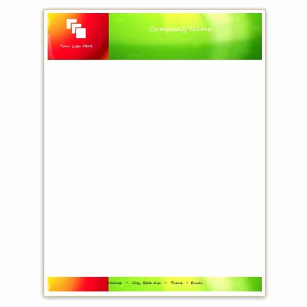 Microsoft Word Letterhead Template Fresh Six Free Letterhead Templates for Microsoft Word Business