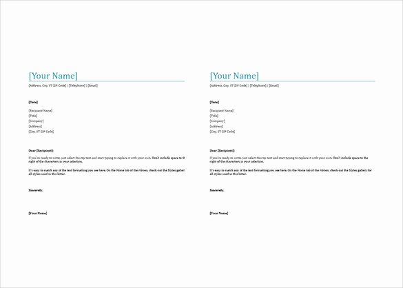 Microsoft Word Letterhead Template New 32 Free Download Letterhead Templates In Microsoft Word