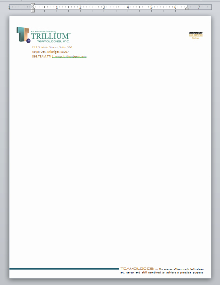 Microsoft Word Letterhead Template Unique Creating Professional Looking Letterhead In Microsoft Word