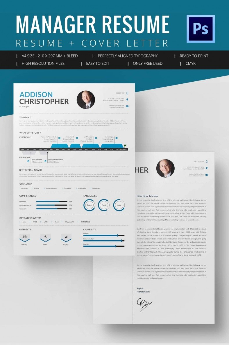Microsoft Word Template Downloads Lovely Project Manager Resume Template 10 Free Word Excel