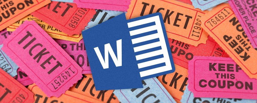 Microsoft Word Ticket Template New How to Get A Free Raffle Ticket Template for Microsoft Word