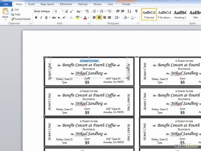 Microsoft Word Ticket Template Unique 15 Of Plate Sale Template Microsoft Word