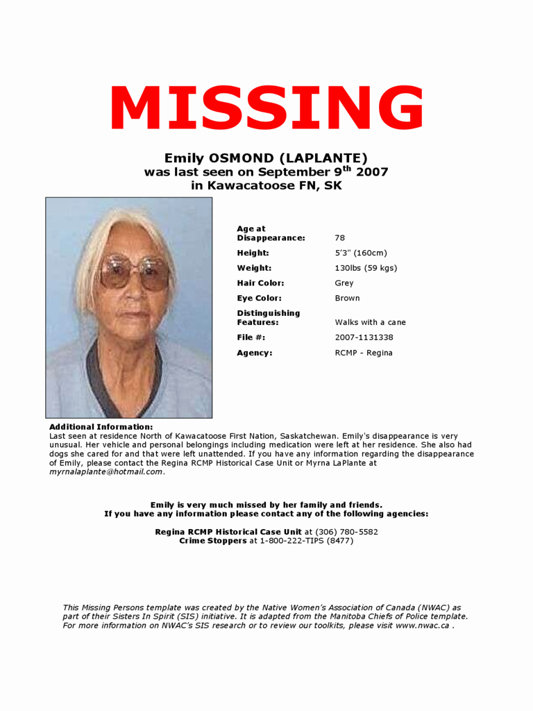 Missing Person Poster Template Best Of Missing Person Poster Template Edit Fill Sign Line