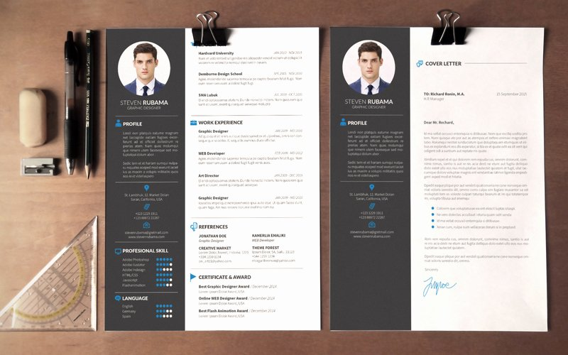 Modern Resume Template Word Best Of Modern Cv Template Word Free Download – Planner Template Free