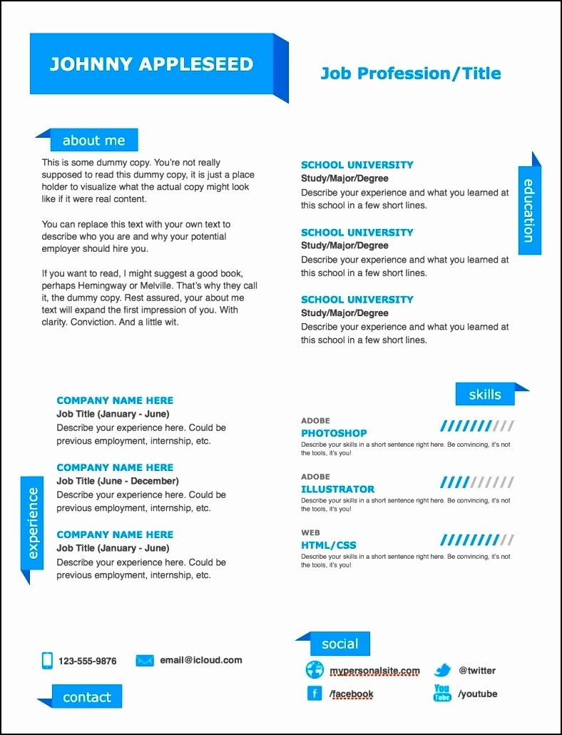 Modern Resume Template Word Lovely Modern Resume Templates Free Word