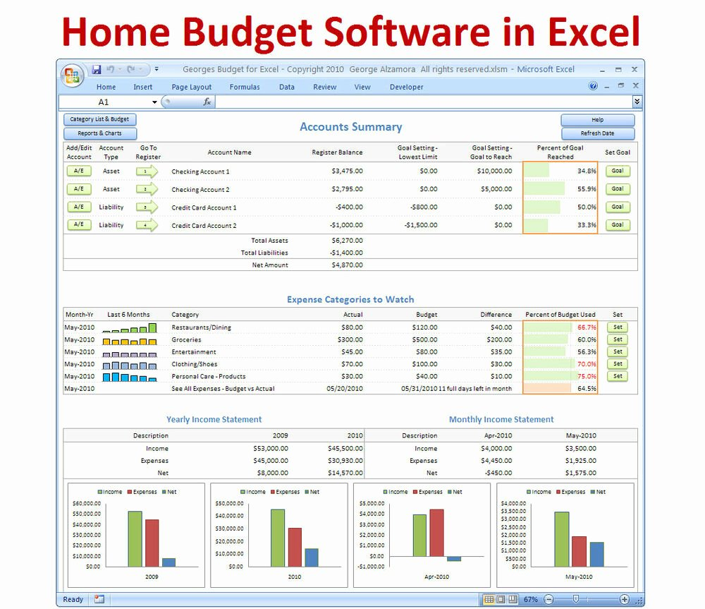 Monthly Budget Excel Template Inspirational Personal Bud Ing software Excel Bud Spreadsheet