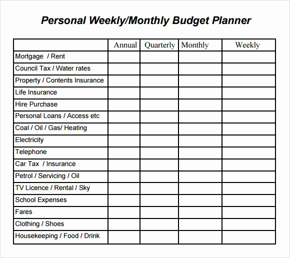Monthly Budget Planner Template Elegant Printable Bud Planner Uk – Planner Template Free