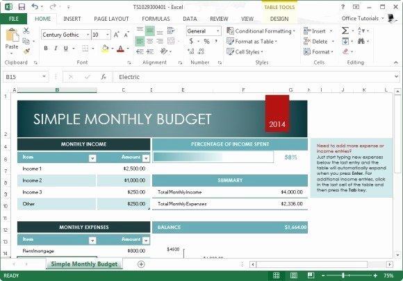 Monthly Budget Template Excel Best Of Best Free Bud Templates for Excel