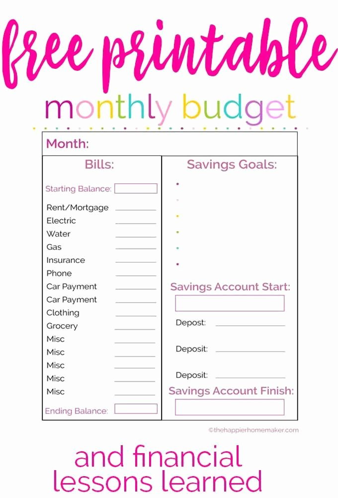 Monthly Budget Worksheet Printable Luxury Best 25 Bud Worksheets Ideas On Pinterest