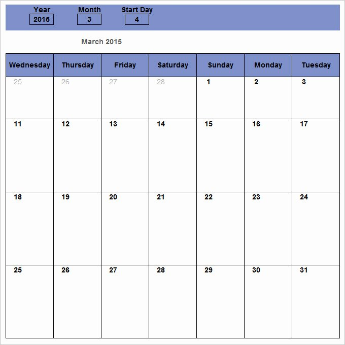 Monthly Schedule Template Excel Best Of Monthly Schedule Template 16 Free Excel Pdf Documents