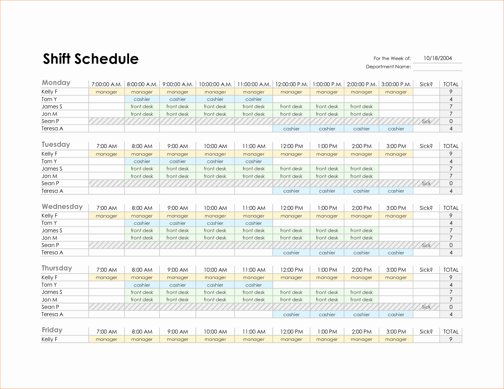Monthly Schedule Template Excel Elegant Monthly Employee Schedule Template Excel