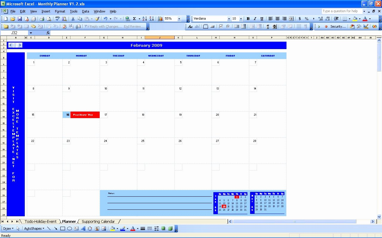Monthly Schedule Template Excel Fresh Monthly Schedule Template Excel
