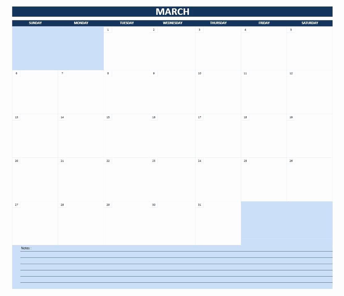 Monthly Schedule Template Excel New 2016 Calendar Templates