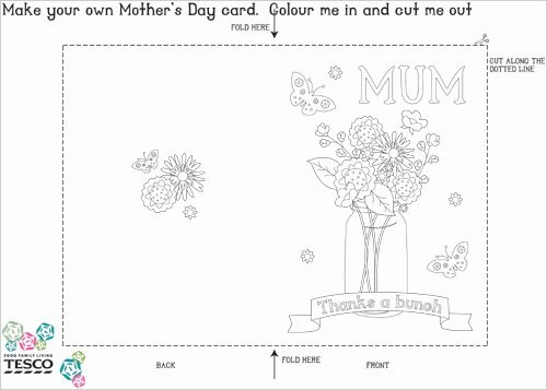 Mothers Day Card Template Best Of My Owl Barn Printable Mother S Day Coloring Card Templates