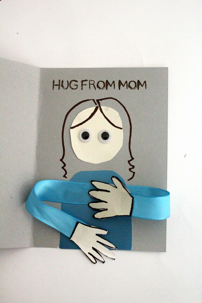 Mothers Day Card Template Elegant Make A Huggy Mother S Day Card Craft Moms and Crafters