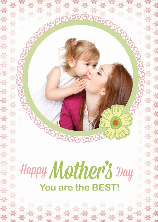 Mothers Day Card Template Inspirational 30 Beautiful Happy Mother's Day 2014 Card Ideas