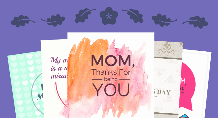 Mothers Day Card Template New Venngage Free Infographic Maker