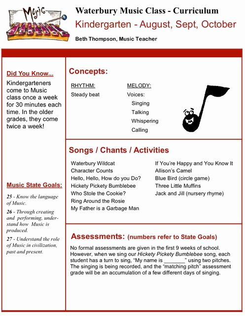Music Lesson Plan Template Inspirational 86 Best Music Lesson Plans Images On Pinterest