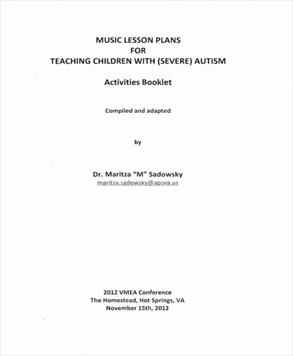 Music Lesson Plan Template Unique 7 Lesson Plan Samples & Templates In Pdf