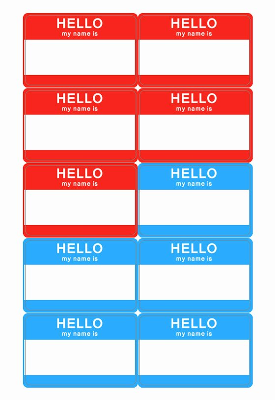 Name Tag Template Free Awesome Name Tag Template
