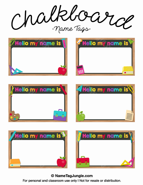 Name Tag Template Free Elegant Pin by Muse Printables On Name Tags at Nametagjungle