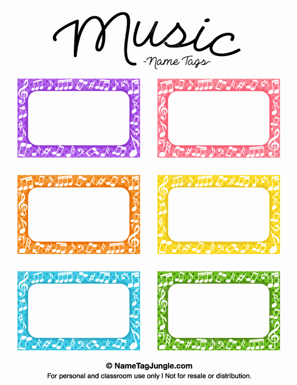 Name Tag Template Free Printable Luxury Pin by Muse Printables On Name Tags at Nametagjungle