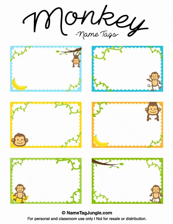 Name Tag Template Free Printable New 25 Best Ideas About Printable Name Tags On Pinterest