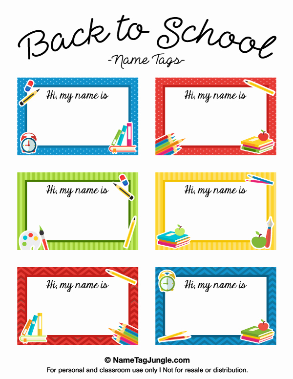 Name Tag Template Free Printable New Pin by Muse Printables On Name Tags at Nametagjungle