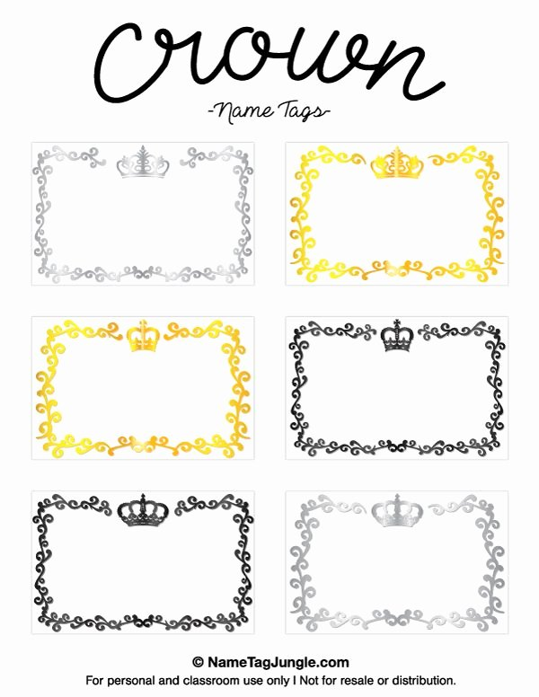 Name Tag Template Free Unique Pin by Muse Printables On Name Tags at Nametagjungle