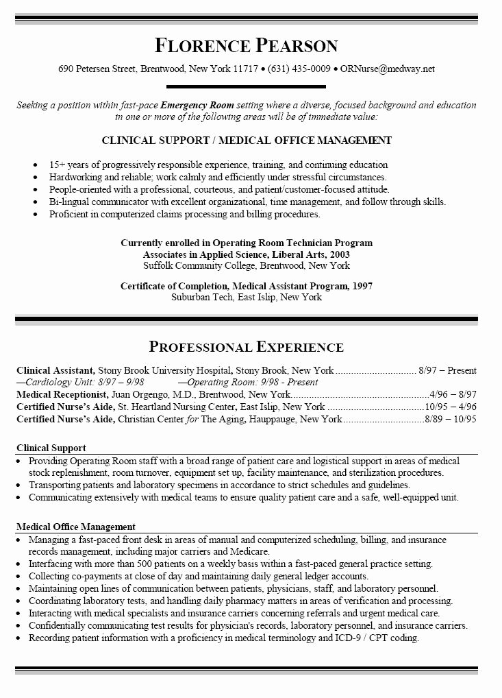 New Graduate Nurse Resume Examples Awesome Sample Resume Nursing Student No Experience This is the