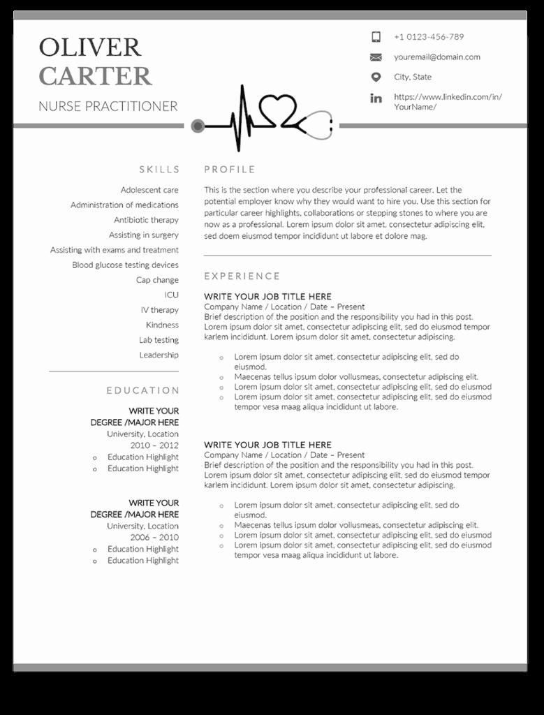 New Graduate Nurse Resume Examples Elegant 10 Premium Nurse Practitioner Resume Templates Sample