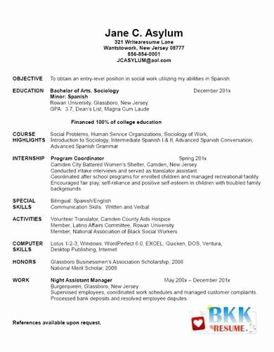 New Graduate Nurse Resume Examples Fresh Example Of New Graduate Nurse Resume Jackie M
