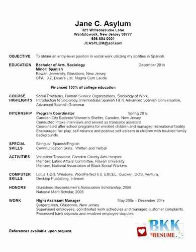 New Graduate Nurse Resume Examples Fresh Example Of New Graduate Nurse Resume Jackie M