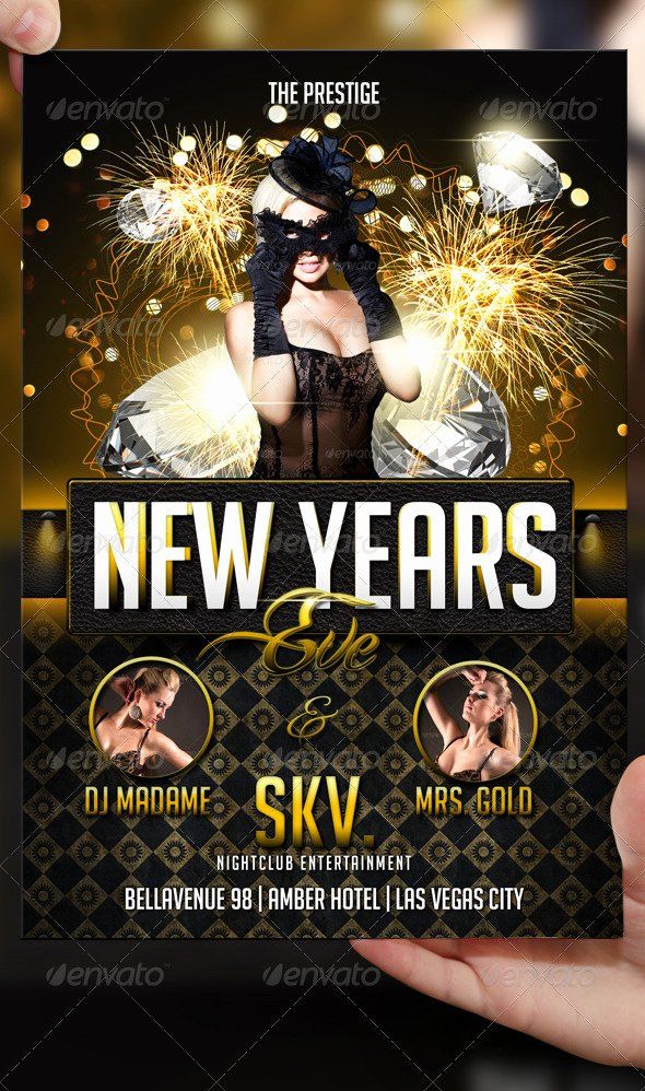 New Years Eve Flyer Fresh New Years Eve Flyer Template by Lordfiren On Deviantart