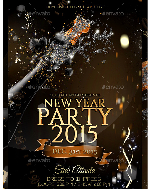 New Years Eve Flyer Fresh New Years Eve Flyer Template Party Flyer Templates for