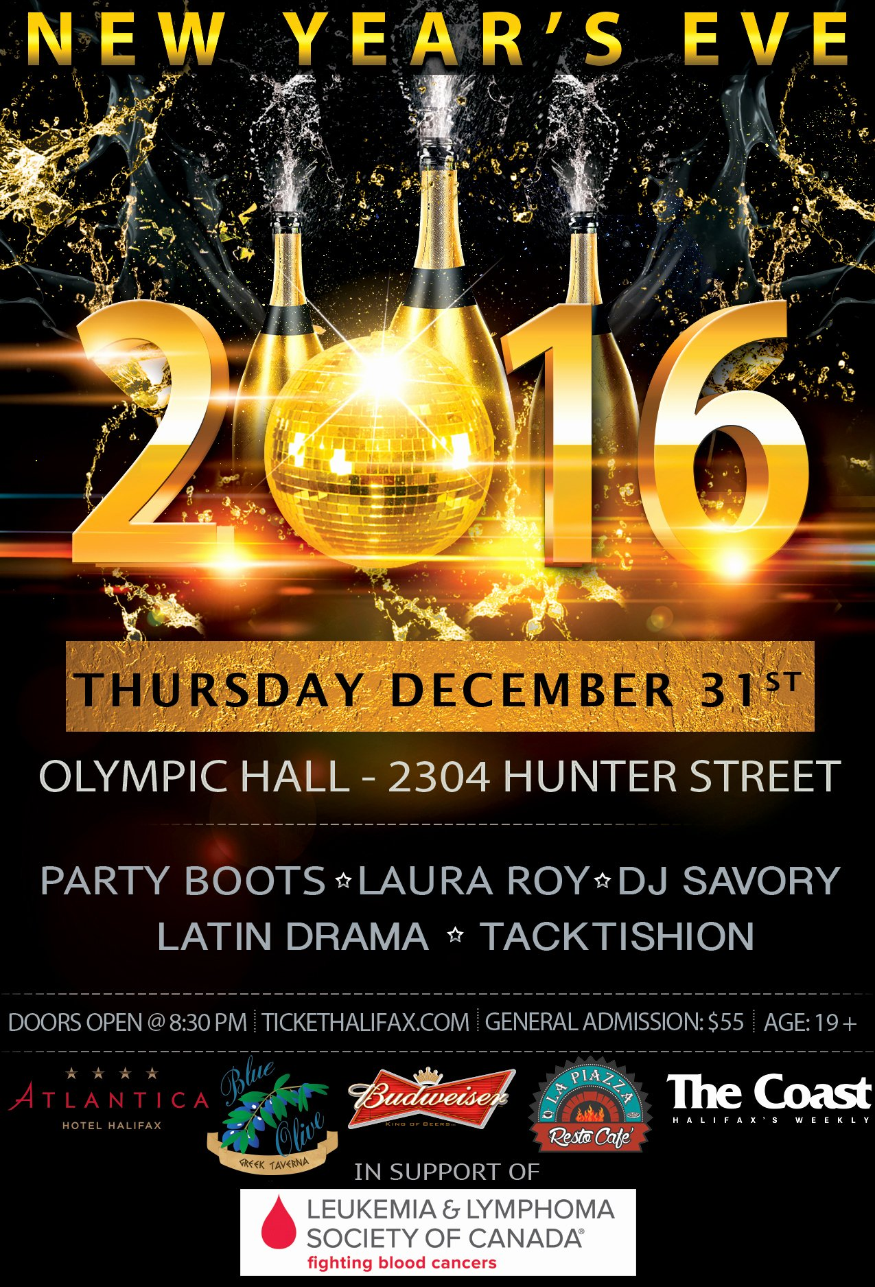 New Years Eve Flyer New New Year S Eve 2016 Party Boots Dj Savoury & Special