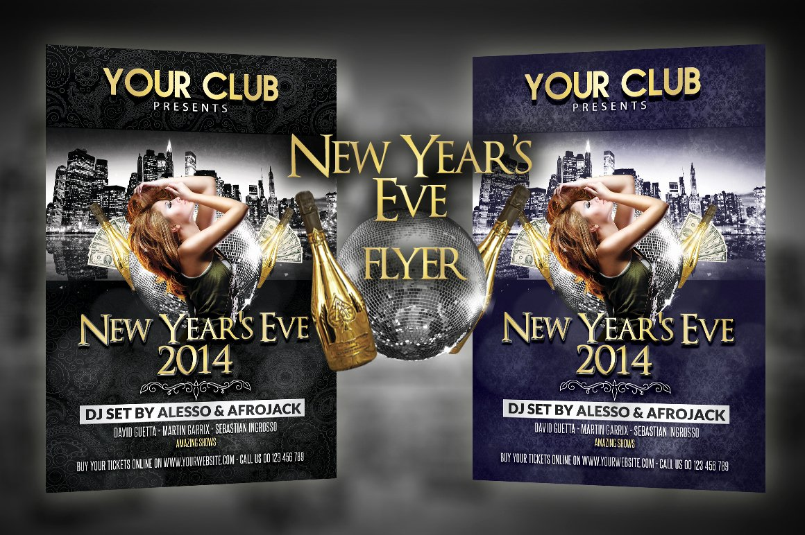 New Years Eve Flyer New New Year S Eve Party Flyer Flyer Templates On Creative