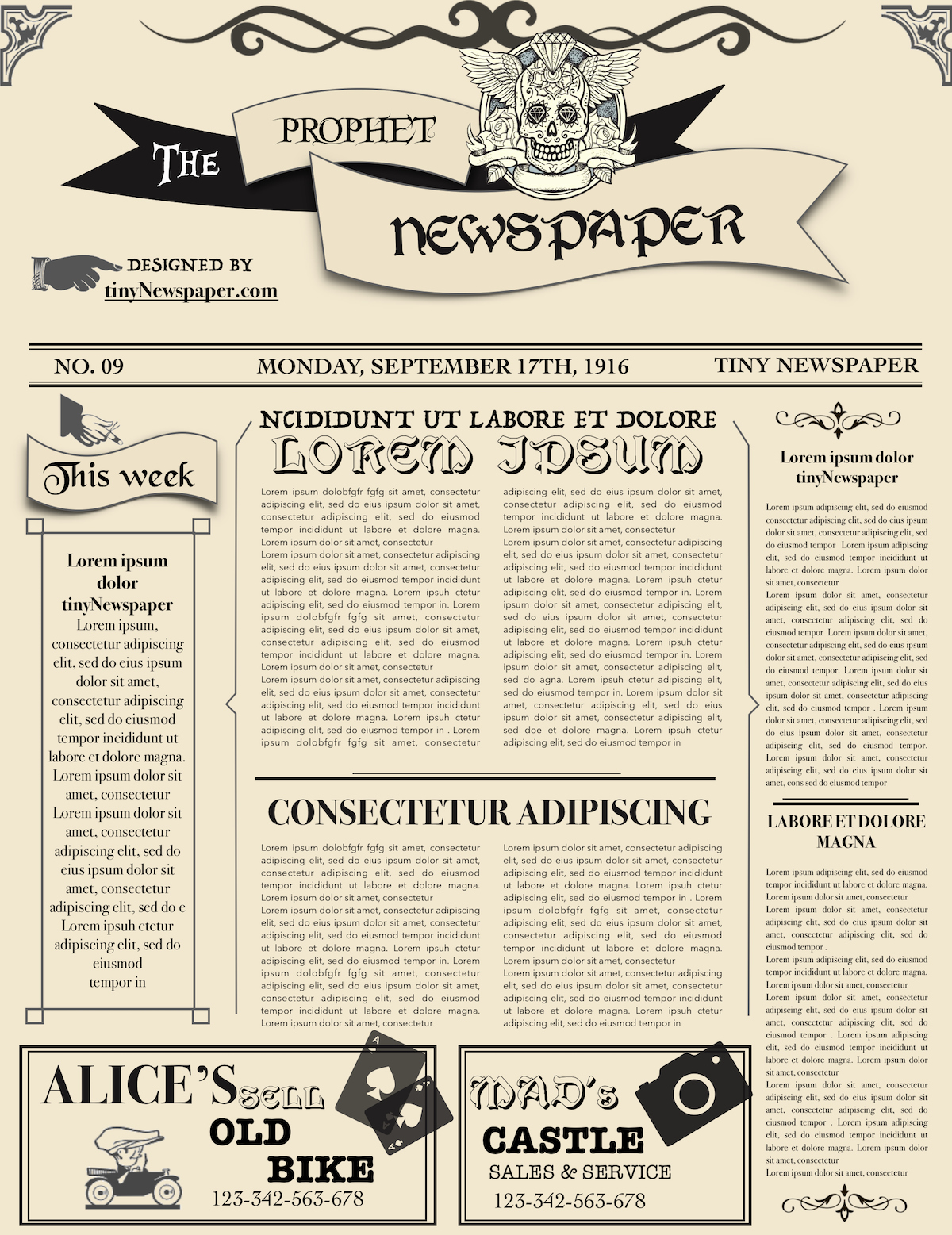 Newspaper Front Page Template Fresh Newspaper Layout Newspaper format Newspaper Generator Free