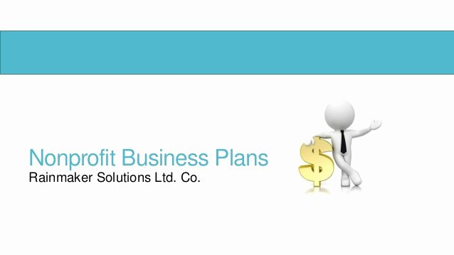 Non Profit Business Plan Beautiful Nonprofit Business Plans