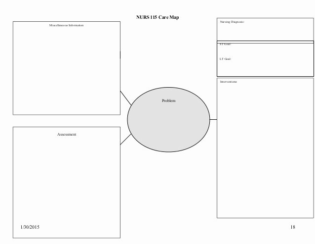 Nursing Concept Mapping Template Best Of 21 Of ati Concept Map Template