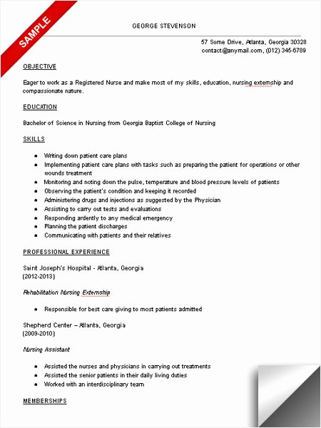 Nursing Student Resume Template Awesome Nursing Student Resume Sample Limeresumes