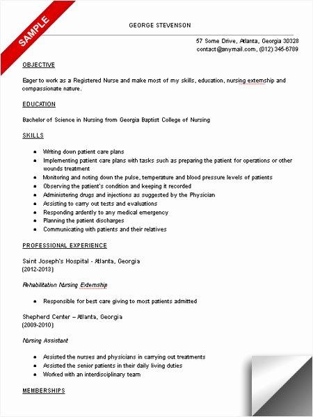 Nursing Student Resume Template Awesome Nursing Student Resume Sample Limeresumes