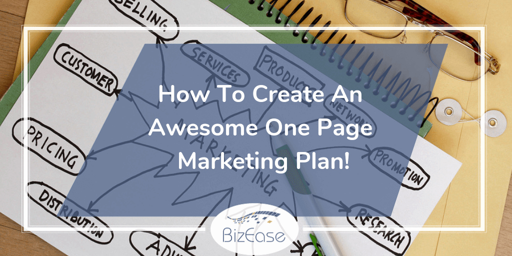 One Page Marketing Plan Beautiful How to Create An Awesome E Page Marketing Plan