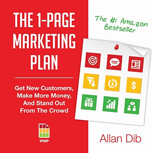 One Page Marketing Plan New the 1 Page Marketing Plan Audiobook by Allan Dib