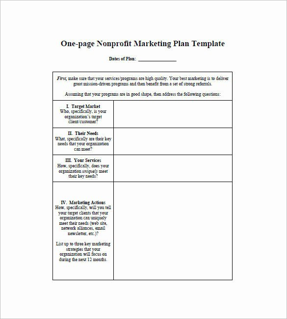One Page Marketing Plan Unique 11 E Page Writing Samples and Templates – Pdf