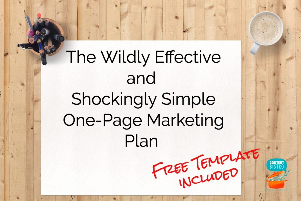 One Page Marketing Plan Unique the E Page Marketing Plan We Use for A Profitable and