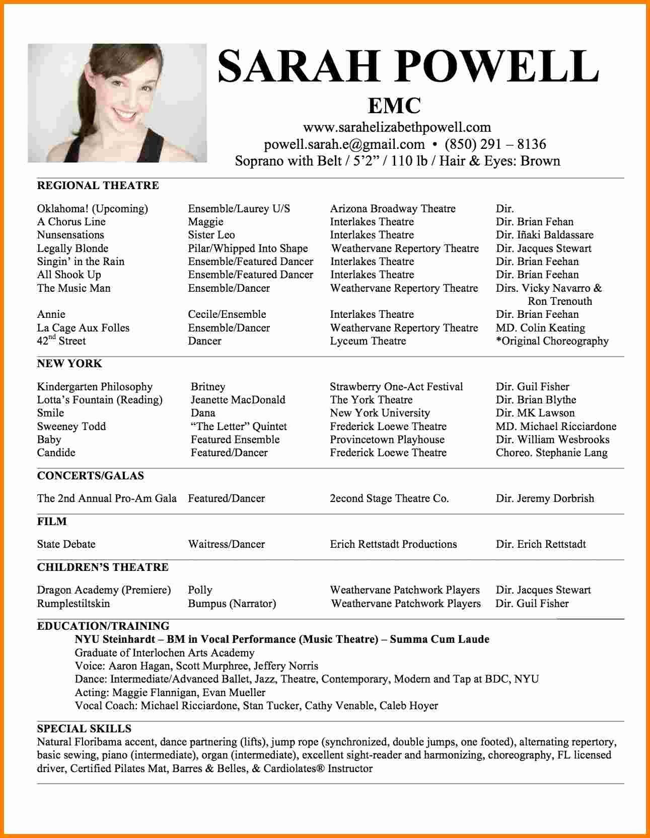 One Page Resume Examples New 5 Best One Page Resume Templates
