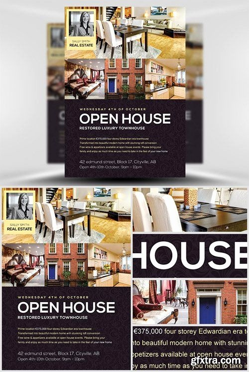 Open House Flyer Templates Best Of Flyer Template Open House and Flyers On Pinterest